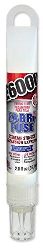 E6000 565000 Fabri-Fuse Adhesive, 2 fl oz Hang Bottle