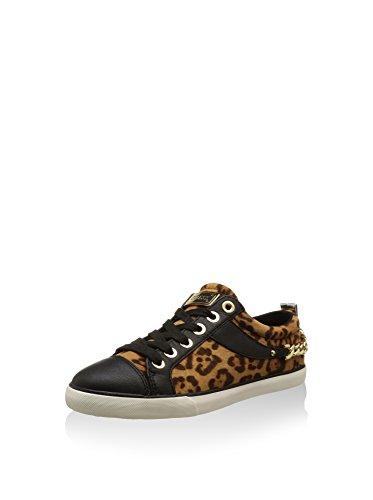 Sneaker 40 Leopardo nero Guess Eu IBwxpxS