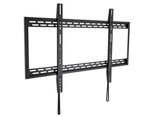 Monoprice Stable Series Fixed TV Wall Mount Bracket for TVs 60in to 100in Max Weight 220 lbs VESA Patterns Up to 900x600 Works with Concrete & Brick UL Certified
