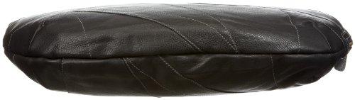 Bodenschatz 4-477 SN 01 Soft Nappa, Borsa donna, 48x9x35 cm (L x A x P) Nero