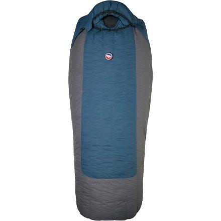 Big Agnes Summit Park 15-Degree Sleeping Bags(600 Down Fill), Long Left Zipper, Outdoor Stuffs