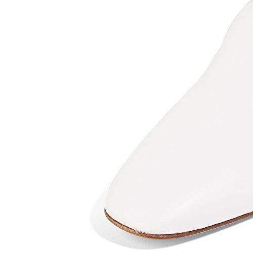Fsj Kvinner Casual Loafers Skli På Komfortable Walking Leiligheter Kjøre Fritidssko Størrelse 4-15 Oss Hvite