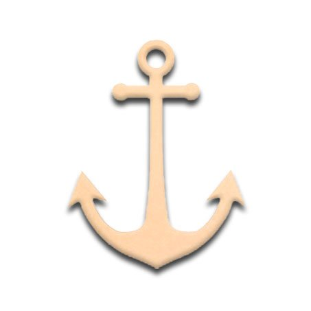 6-Ships-Anchor-Unfinished-DIY-Craft-Cutout-to-Sell-Ready-to-Paint-Wooden-Stacked