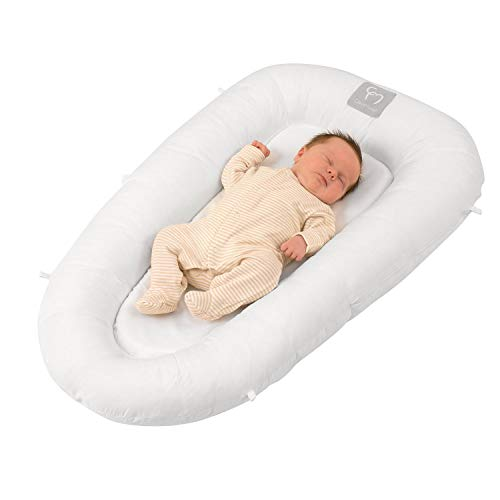 Clevamama Baby Pod - Breathable Foam Sleeping Nest for Newborn and Babies (0-6 months) ()