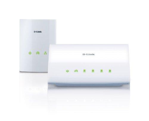 D-Link Systems PowerLine AV 4-Port Switch Starter Kit