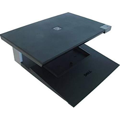 Genuine Dell W005C, J858C E-CRT Monitor Stand and Laptop Dock For Latitude E4200, Latitude E4300, Latitude E5400, Latitude E5500, Latitude E6400 / 6400ATG, Latitude E6500, Precision M2400, Precision M4400, Precision M6400 Dell Compatible Part Numbers: W005C, J858C, PW395, 330-0875 ()