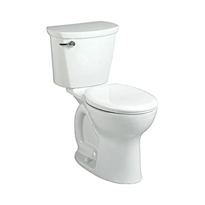 Cadet PRO Right Height Round Front 1.28 gpf 2-Piece Toilet in White