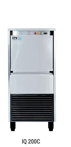 Commercial icemaker -ICE QUEEN 200C SELF-CONTAINED GRANULAR ICE MACHINE -water filter included - Flaker Ice Machine