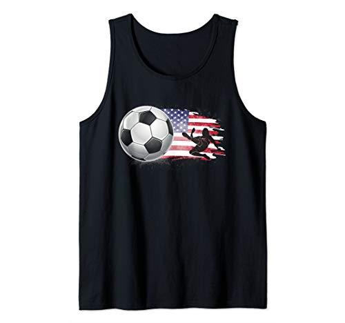 Women USA Soccer France 2019 Shirt World Tournament Tank Top