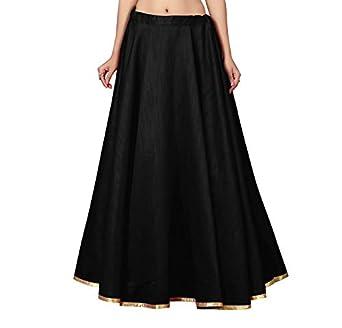STUDIO Shringaar Women's Full Flare Full Volume Skirt Lehenga (Free Size)