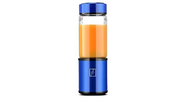 Mini Blender, Blender Jugo Portátil, Hogar De Frutas Mezclador - Seis Blades, 500Ml Máquina De La Fruta Mezcla con Cable Cargador USB: Amazon.es