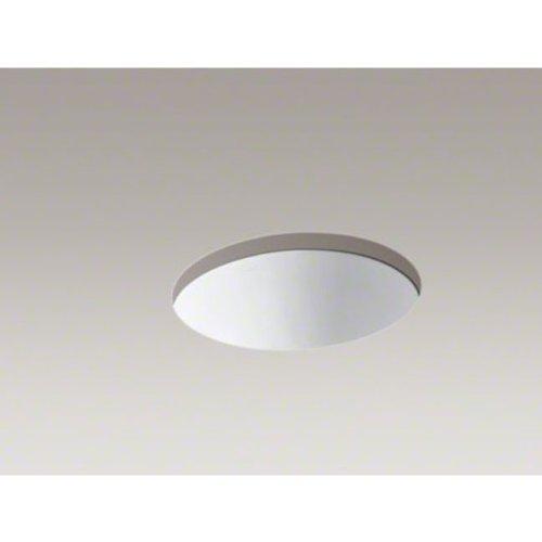 KOHLER K-2205-0 Caxton Undercounter Bathroom Sink with Center Drain, White