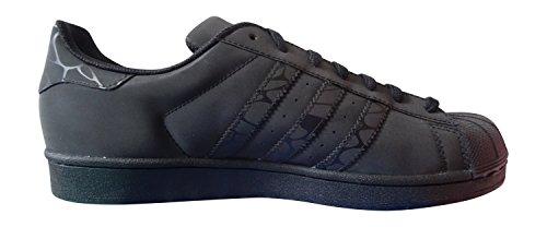 adidas originals superstar zapatillas de hombre S31641 zapatillas CBLACK/CBLACK/CBLACK S75537