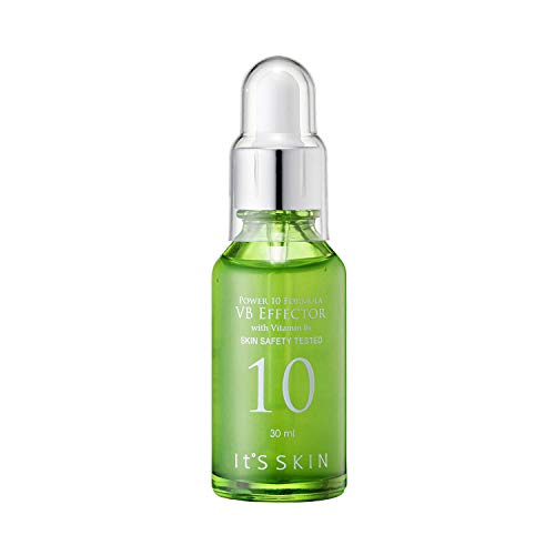 It'S SKIN Power 10 Formula VB Effector Face Serum, 30ml (1.01 fl oz) - Vitamin B Caster Oil for Sebum Control