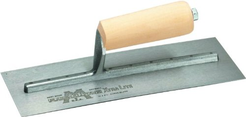 MARSHALLTOWN The Premier Line 12 11-Inch by 4-1/2 Drywall Trowel with Curved Blade (Trowel Curved)