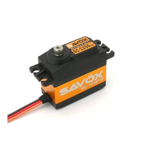 Savox SC-1256TG High Torque Titanium Gear Standard Digital Servo ()