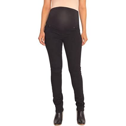 24a395fee83a7 Great Expectations Maternity Full-Panel Jegging (XL/XG 16-18, Black) at  Amazon Women's Clothing store: