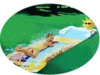 Wham-o Rainbow Bounce Slip N Slide Waterslide Water Toy