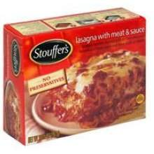 Nestle Stouffers Entree Lasagna with MSC, 10.5 Ounce - 12 per case.
