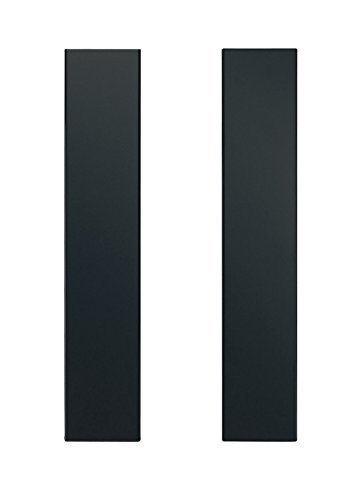 Universal Black Over the Range Microwave Trim Fill Kit 36'' Wide by 15-3/4'' Tall MF3-BL by Imperial