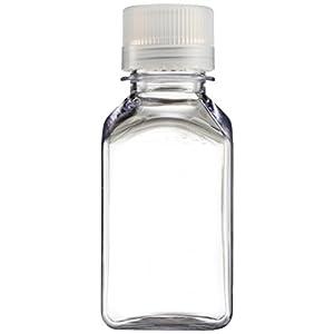 Transparent Lexan Square Storage Bottle 4 oz.
