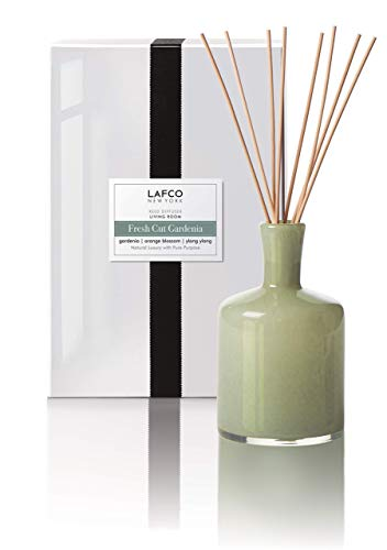 LAFCO House & Home Diffuser, Living Room Fresh Cut Gardenia, 15 Fl Oz ()