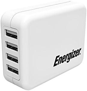 Energizer USA4BEUCWH5 - Cargador USB Multi Puerto (21W) Color ...