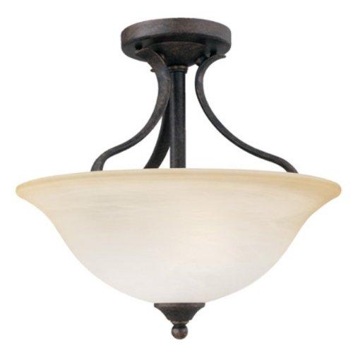 Thomas Lighting Sl8420-22 Prestige Two-Light Ceiling Fixture, Sable Bronze ()