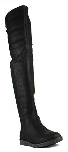 BCBGeneration Women's Brennan Slouch Boot, Black, 7 M US