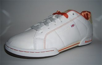Reebok NPC DES 6-165334 Weiß-Orange Größe Euro 38 / US 7,5 / UK 5 / 24,5 cm