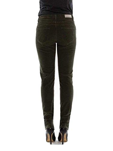 style normale 778 pour femme unie Jeans taille Vert normale couleur Pantalon Carrera velours droit 752 taille qt6XFwIxP