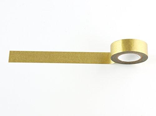 Gold Washi Tape (1 Roll - 9/16