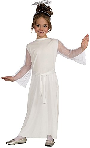 Makeup Angel Costume (Forum Novelties Angel Costume, Child Medium)