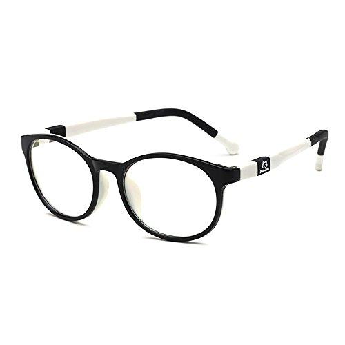 Fantia Kids Safety Flex Optical Round Eye Glasses Prescription Glasses (Black and - China Prescription Glasses