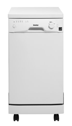 Danby DDW1801MWP Portable Dishwasher White