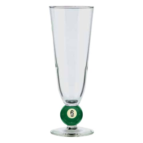 12 oz. Pilsner Billiard Glass No. 6