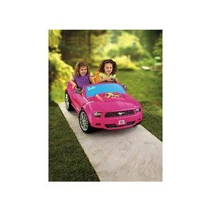 Fisher-Price® Power Wheels Barbie Ford Mustang, Baby & Kids Zone