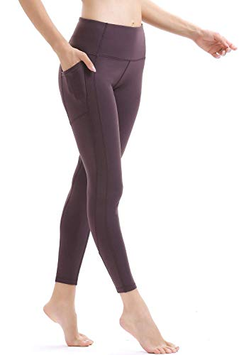 9c299a9a7faab Persit Women's Premium Yoga Pants with Pockets, Non See-Through Tummy  Control 4 Way