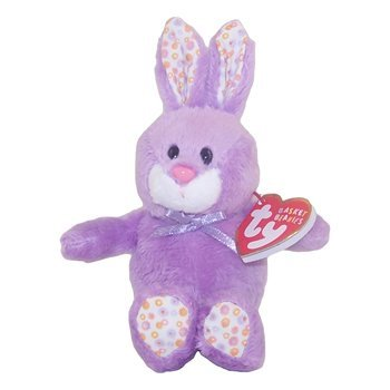 Image Unavailable. Image not available for. Color  Ty Basket Beanies Bloom  - Purple Bunny ef85787326b3