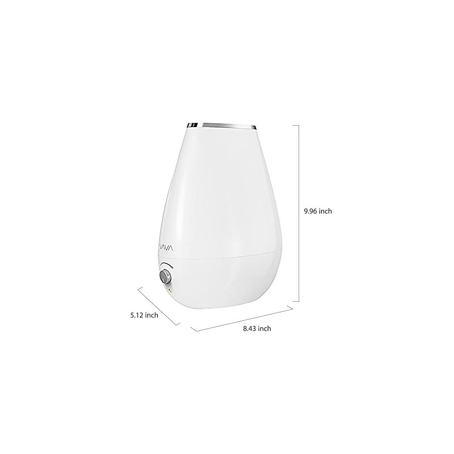 VAVA Cool Mist Humidifier Space Saving Ultrasonic Bedroom Babies Nursery, Whisper Quiet, Filter Free, Automatic Shut Off, 360° Nozzle (1.8L/0.48 Gallon, US 110V) Amazon Vine