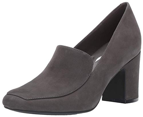 Aerosoles Women's Tall Tale Pump, Dark Gray Nubuck, 9 M US