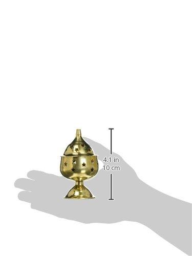 Brass Wick Puja Lamp