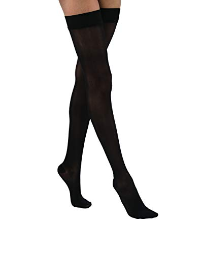JOBST UltraSheer, Thigh CT, Extra Large, Classic Black ()