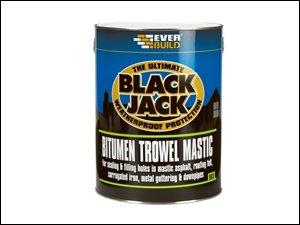 Everbuild 90302 Bitumen Blumenkelle Mastic 903