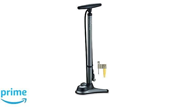 GIYO High Pressure Bicycle Bike Floor Pump W//TOP-Mounted Gauge