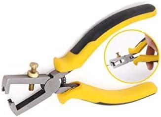 ZYL-YL 家の修理に適した、すなわち屋外産業メンテナンス6インチ多機能ストリッププライヤーセット、黄黒(カラー:イエローブラック、サイズ:6インチ)