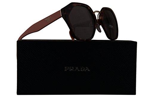 Prada PR04TS Sunglasses Pink Havana w/Purple Brown 55mm Lens UE06X1 SPR04T PR 04TS SPR - Prada Sunglasses Purple