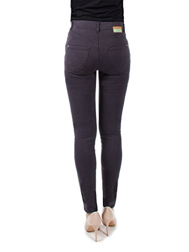 tissu normale 896 767 Jeans pour Fonc taille extensible taille skinny Gris Carrera Jeans femme 1qgXx6w