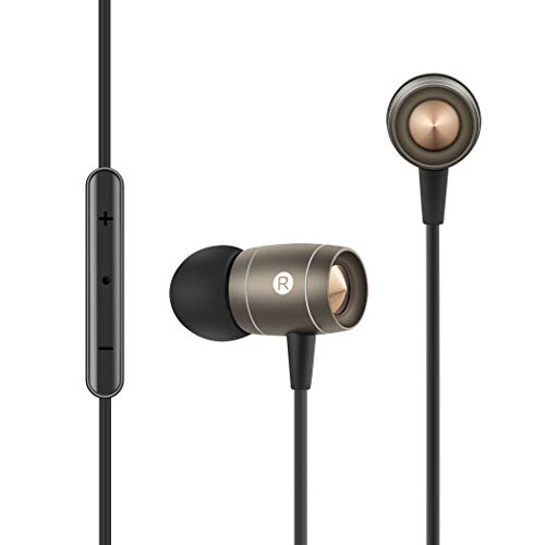 Earbuds,Earphones Noise Isolating in Ear Headphones Balanced Bass Driven Sound with Microphone Compatible Apple iPhone, iPad, iPod, Samsung, Smartphones,Tablets, Mp3 Players,TP3