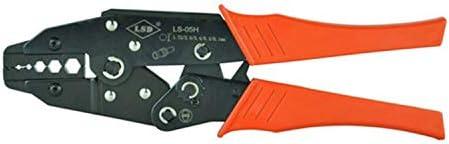 ケーブルカッター 同軸圧着ペンチ RG55/RG58/RG59同軸圧着工具 SMA/BNCコネクタ 炭素鋼ラチェット 圧着工具 手動ケーブルカッター